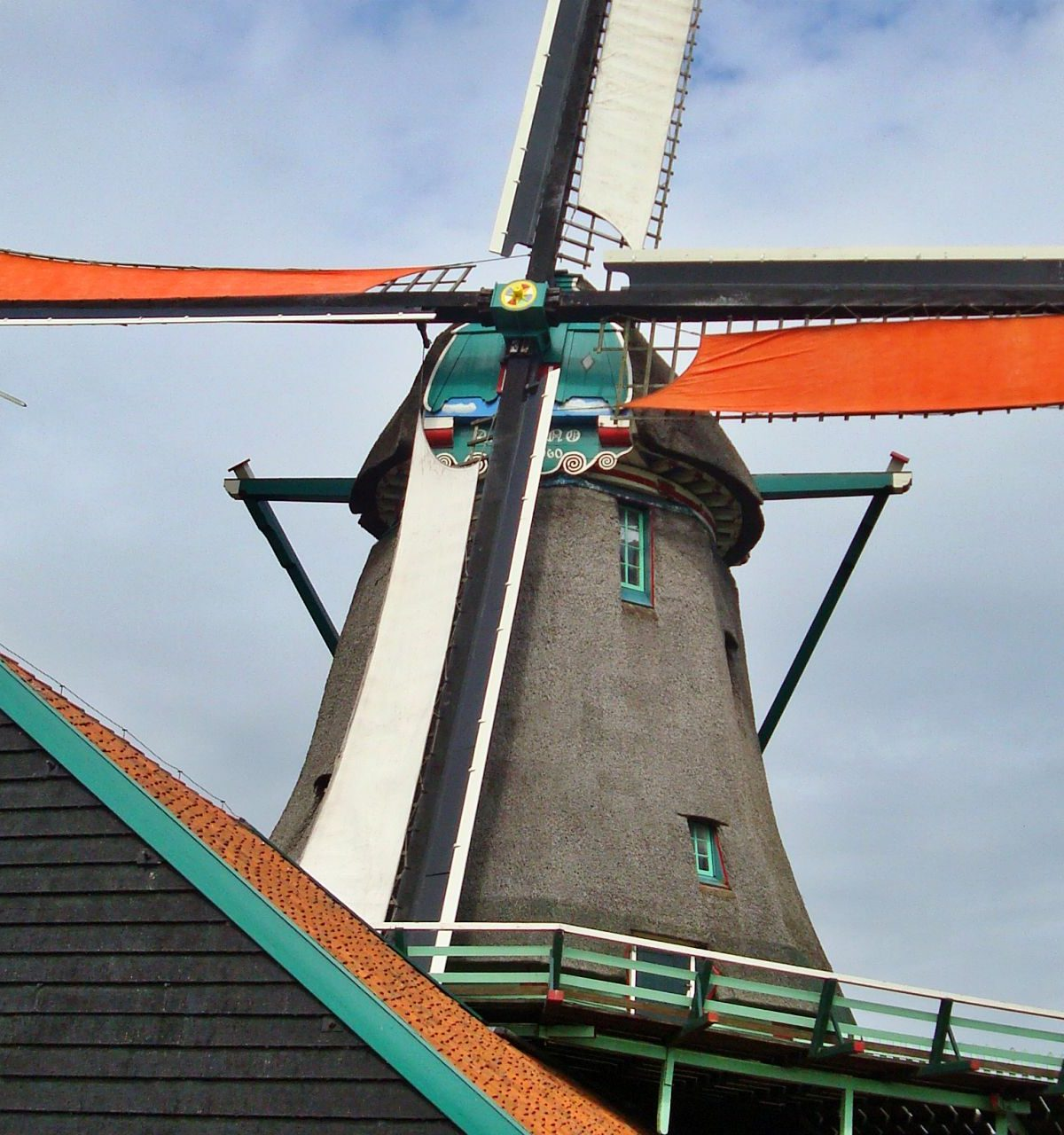 zaanse schans molen noord holland hotelb&b lanormande-08