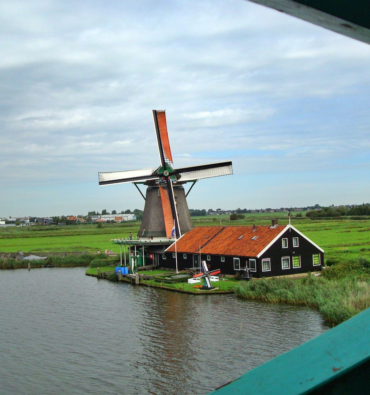 zaanse schans molen noord holland hotelb&b lanormande westwoud13