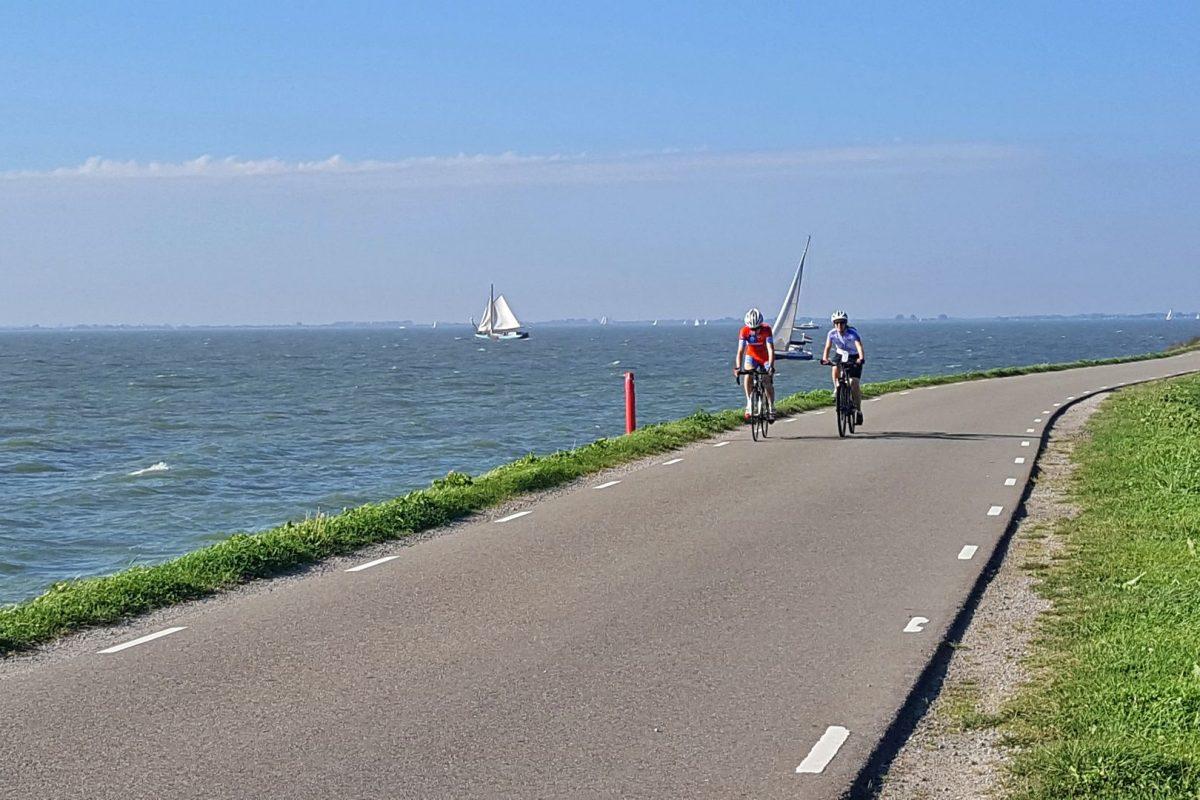 zeilen ijsselmeer hoorn enkhuizen medemblik dijknatuur fietsen hardlopen20